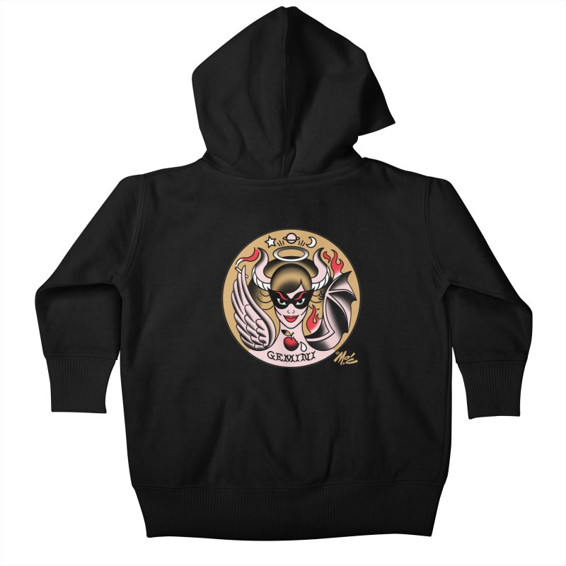 GEMINI! Kids Baby Zip-Up Hoody by Mitch O'Connell