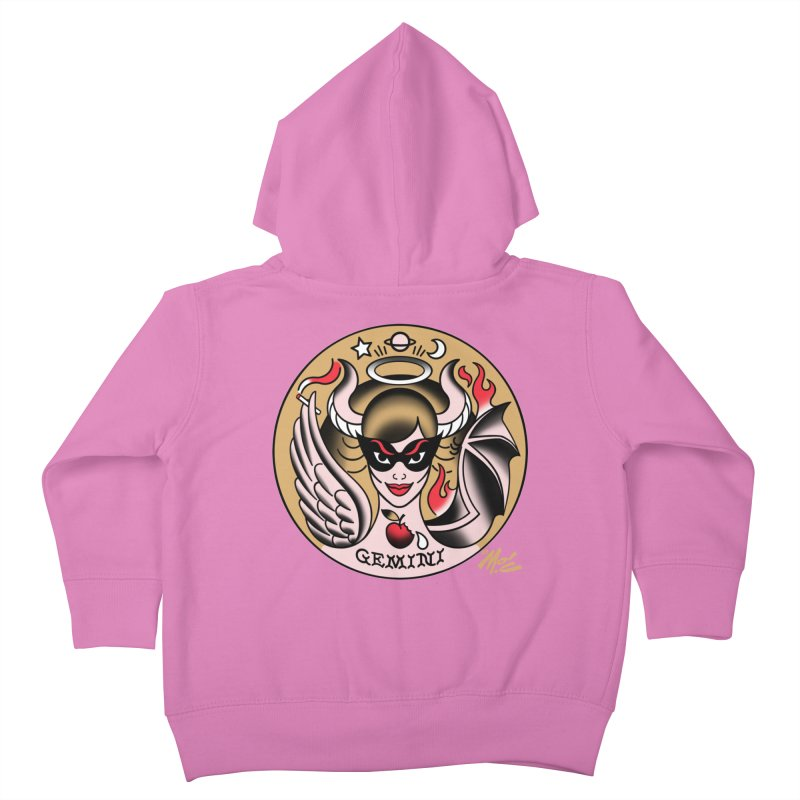 GEMINI! Kids Toddler Zip-Up Hoody by Mitch O'Connell