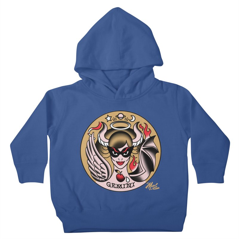 GEMINI! Kids Toddler Pullover Hoody by Mitch O'Connell