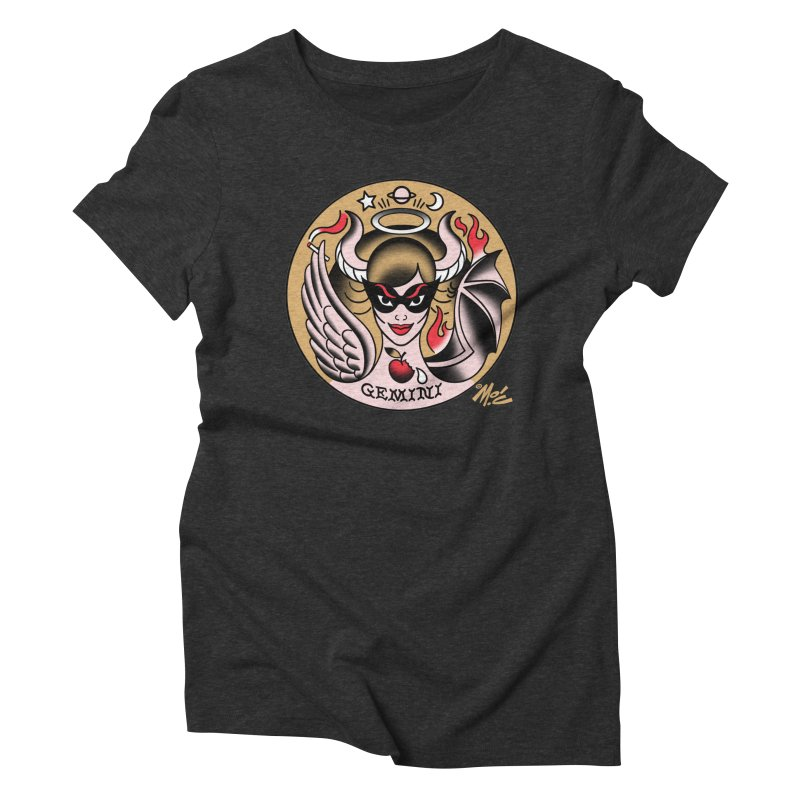 GEMINI! Women's Triblend T-shirt by Mitch O'Connell