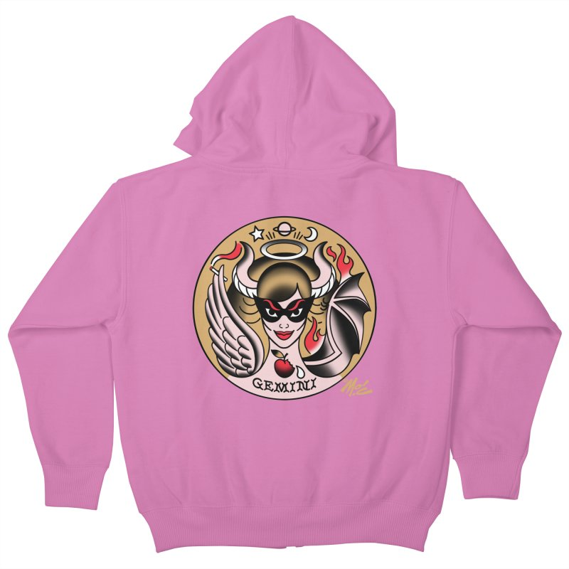 GEMINI! Kids Zip-Up Hoody by Mitch O'Connell