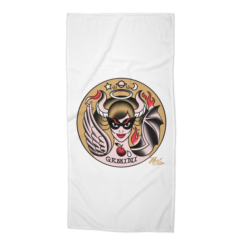 GEMINI! Accessories Beach Towel by Mitch O'Connell