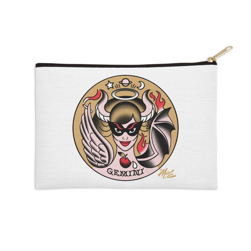 GEMINI! Accessories Zip Pouch by Mitch O'Connell