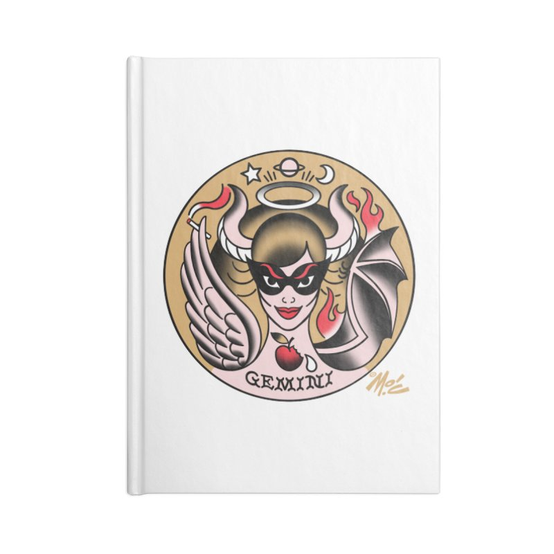 GEMINI! Accessories Notebook by Mitch O'Connell