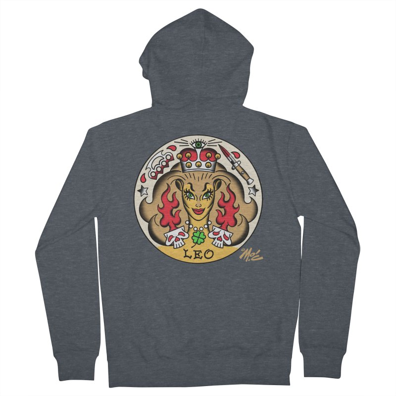 LEO! Women's Zip-Up Hoody by Mitch O'Connell