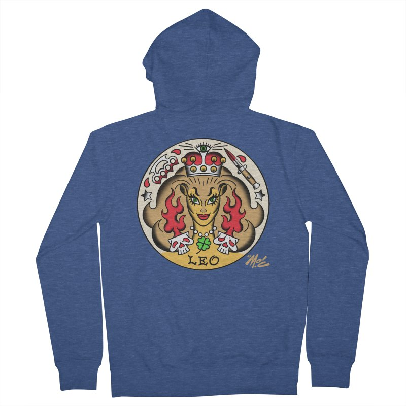 LEO! Men's Zip-Up Hoody by Mitch O'Connell