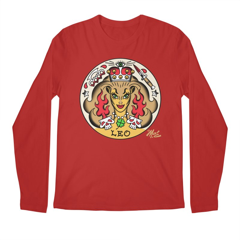 LEO! Men's Longsleeve T-Shirt by Mitch O'Connell