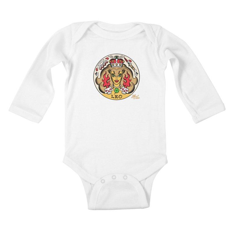 LEO! Kids Baby Longsleeve Bodysuit by Mitch O'Connell