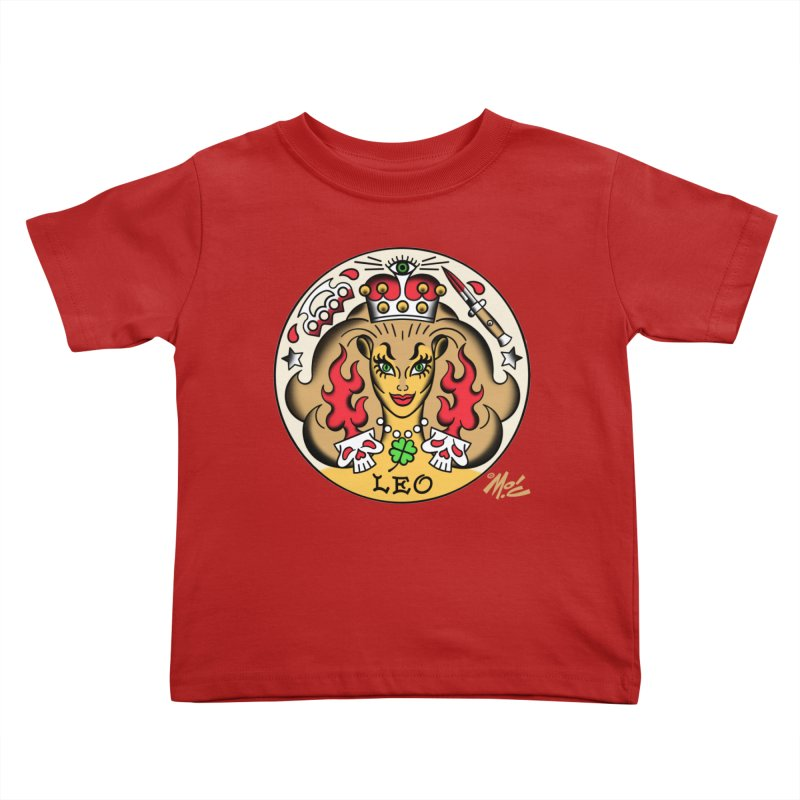LEO! Kids Toddler T-Shirt by Mitch O'Connell