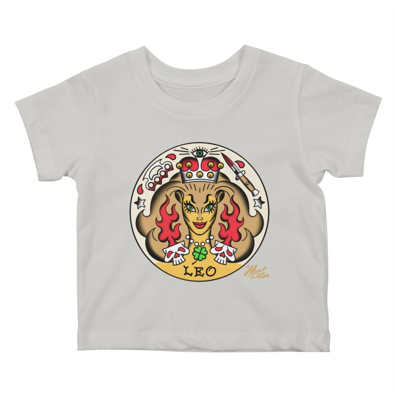 LEO! Kids Baby T-Shirt by Mitch O'Connell