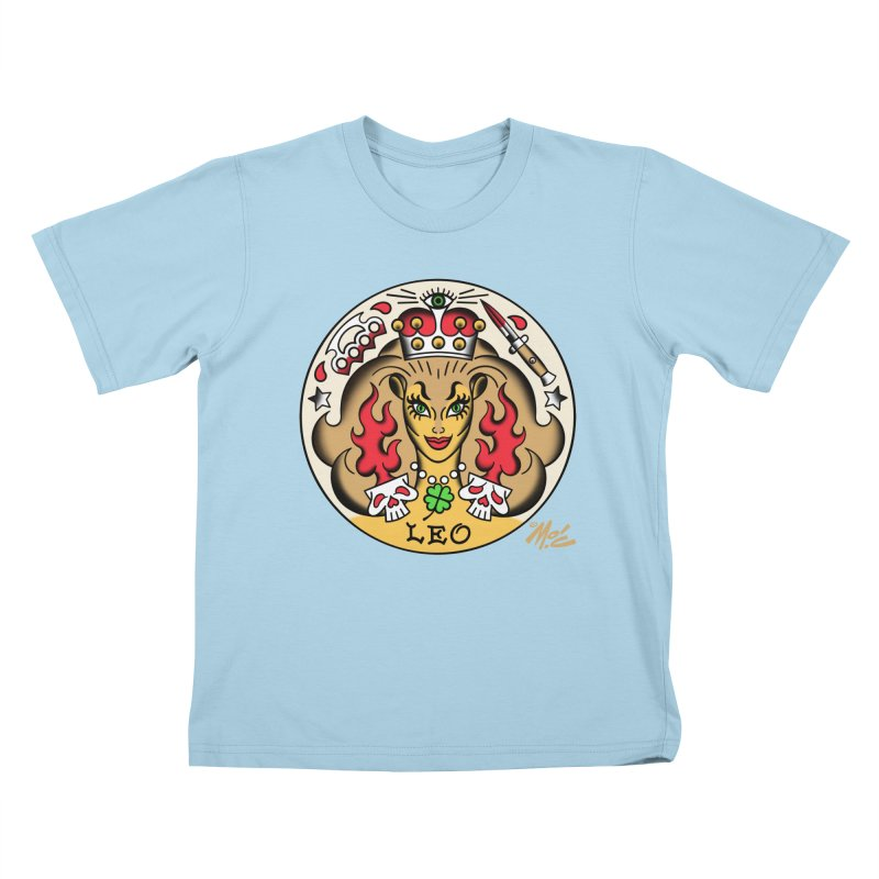 LEO! Kids T-shirt by Mitch O'Connell
