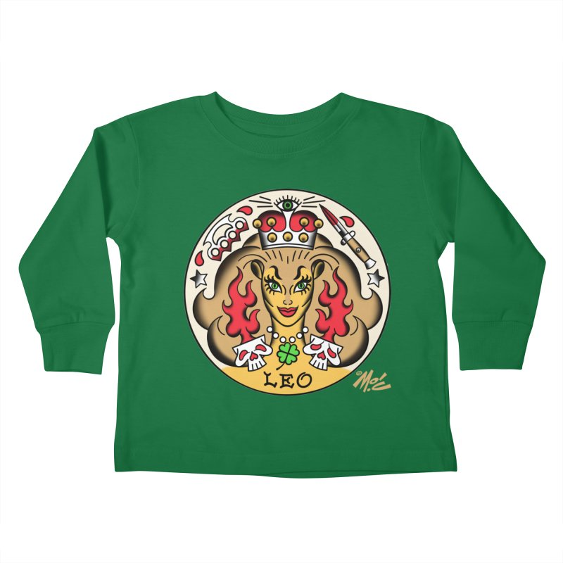 LEO! Kids Toddler Longsleeve T-Shirt by Mitch O'Connell