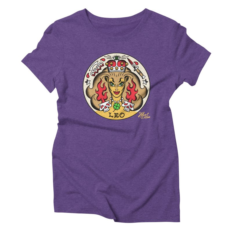 LEO! Women's Triblend T-shirt by Mitch O'Connell