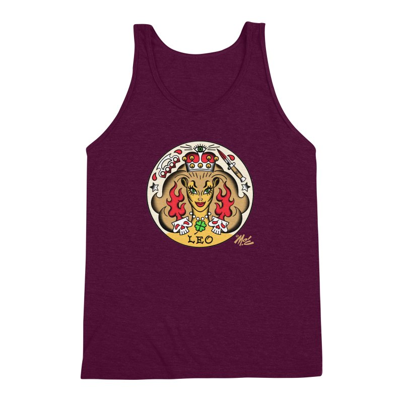 LEO! Men's Triblend Tank by Mitch O'Connell