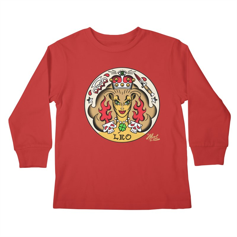 LEO! Kids Longsleeve T-Shirt by Mitch O'Connell