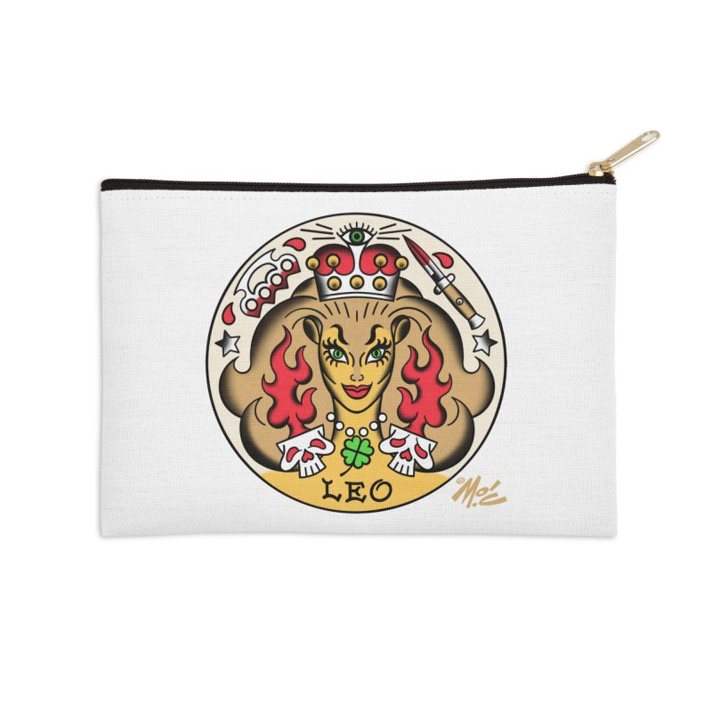 LEO! Accessories Zip Pouch by Mitch O'Connell