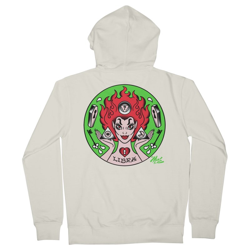 LIBRA! Women's Zip-Up Hoody by Mitch O'Connell