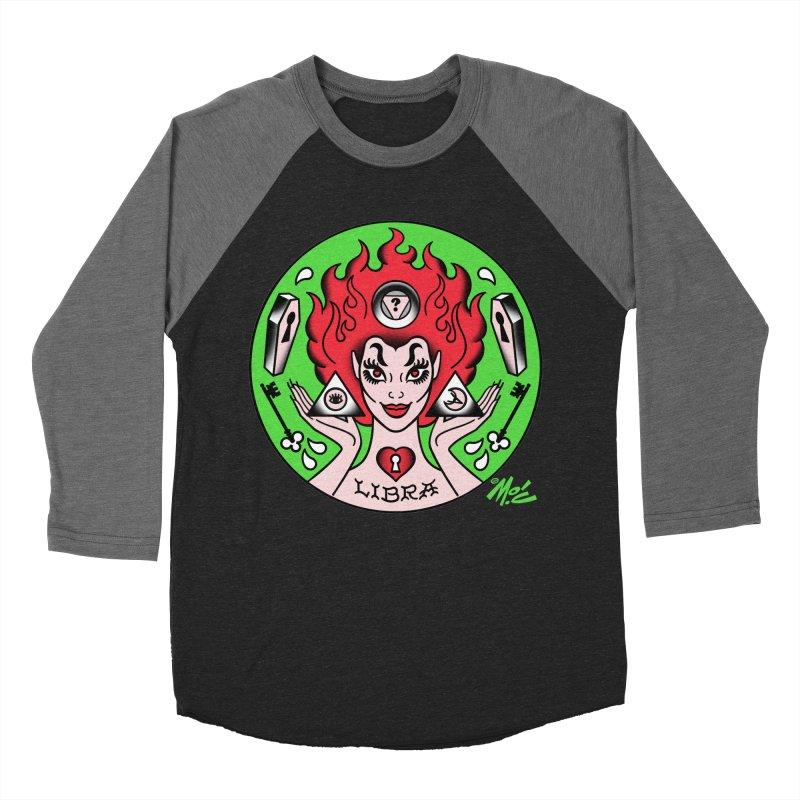 LIBRA! Women's Baseball Triblend T-Shirt by Mitch O'Connell