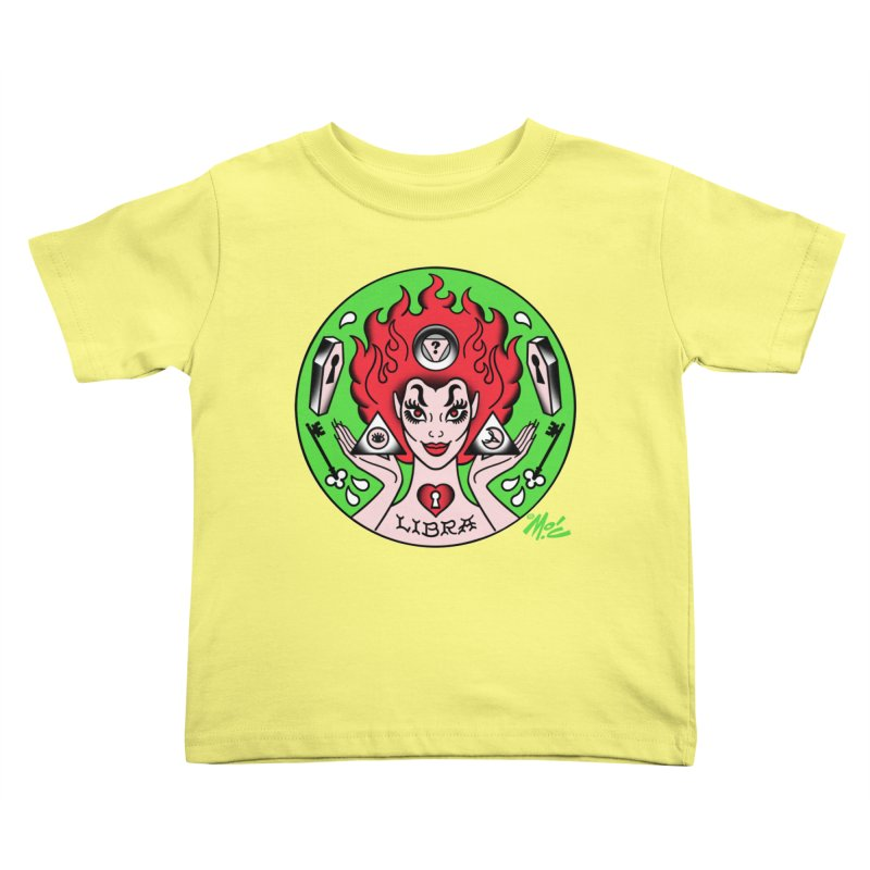 LIBRA! Kids Toddler T-Shirt by Mitch O'Connell