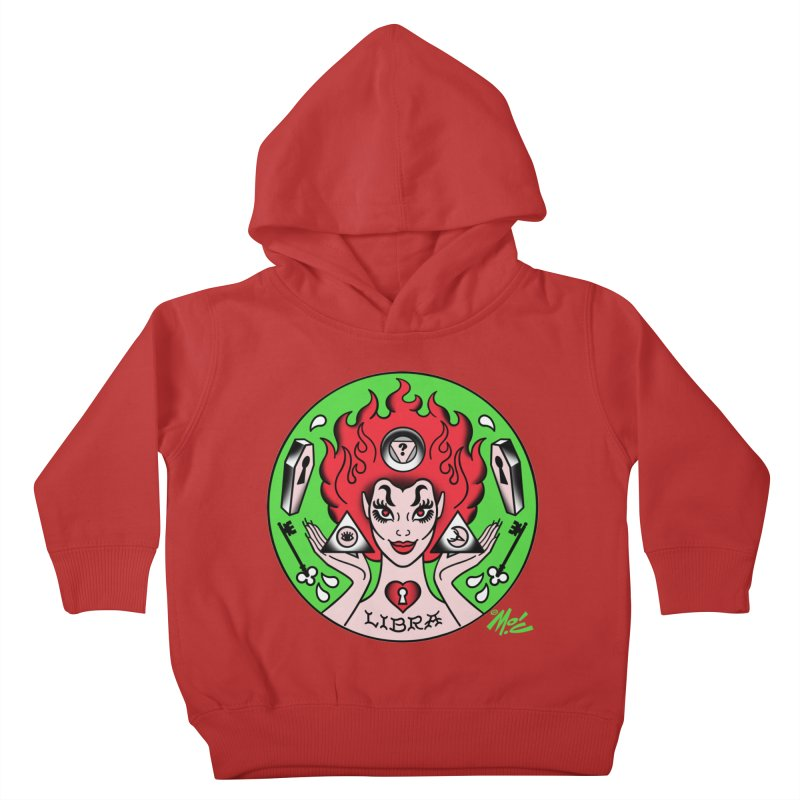 LIBRA! Kids Toddler Pullover Hoody by Mitch O'Connell