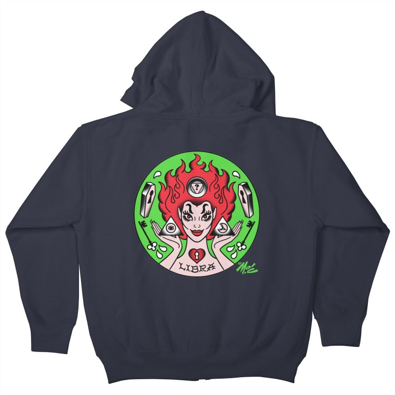 LIBRA! Kids Zip-Up Hoody by Mitch O'Connell
