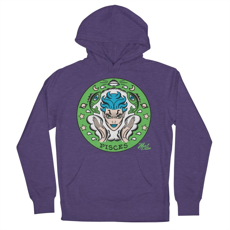 PISCES! Men's Pullover Hoody by Mitch O'Connell