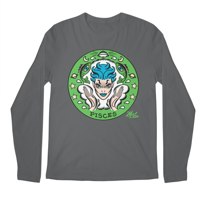 PISCES! Men's Longsleeve T-Shirt by Mitch O'Connell