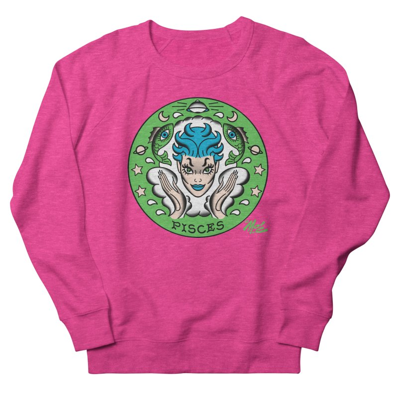 PISCES! Men's Sweatshirt by Mitch O'Connell