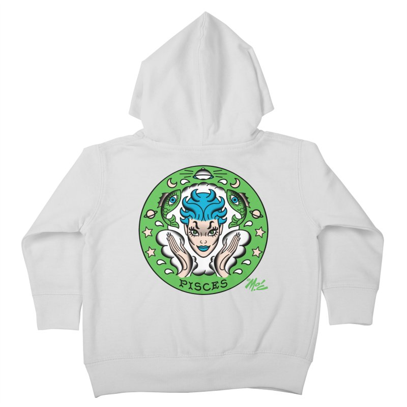 PISCES! Kids Toddler Zip-Up Hoody by Mitch O'Connell