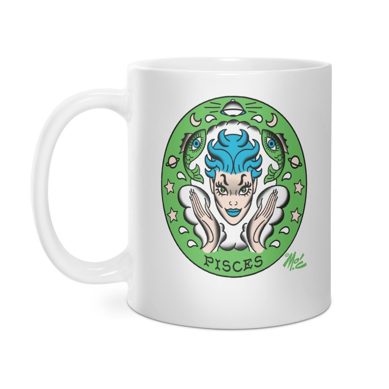 PISCES! Accessories Mug by Mitch O'Connell