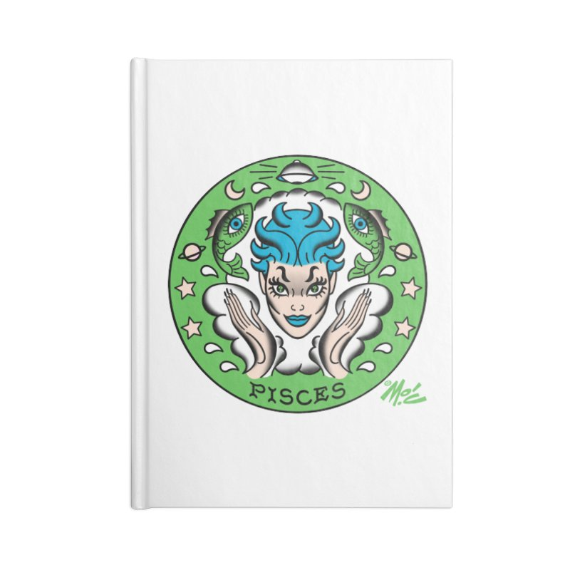 PISCES! Accessories Notebook by Mitch O'Connell