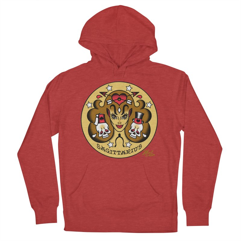 SAGITTARIUS! Men's Pullover Hoody by Mitch O'Connell