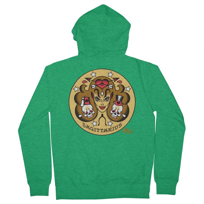 SAGITTARIUS! Women's Zip-Up Hoody by Mitch O'Connell