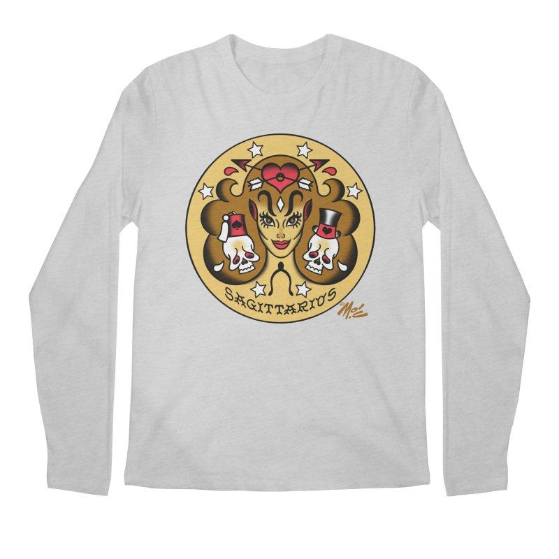 SAGITTARIUS! Men's Longsleeve T-Shirt by Mitch O'Connell