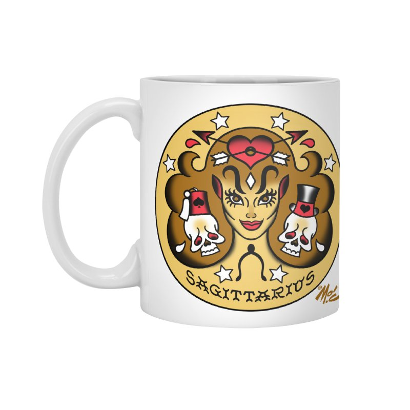 SAGITTARIUS! Accessories Mug by Mitch O'Connell