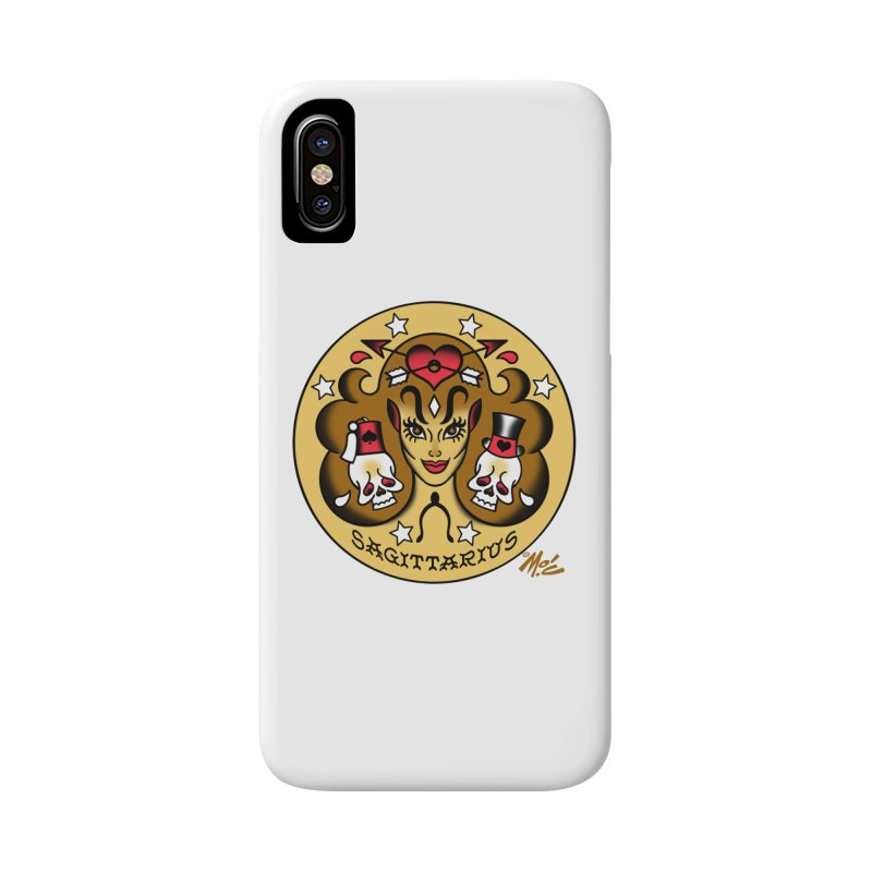 SAGITTARIUS! Accessories Phone Case by Mitch O'Connell