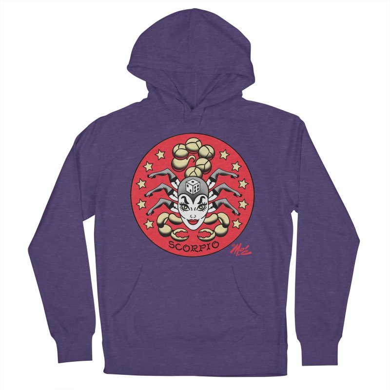 SCORPIO! Women's Pullover Hoody by Mitch O'Connell