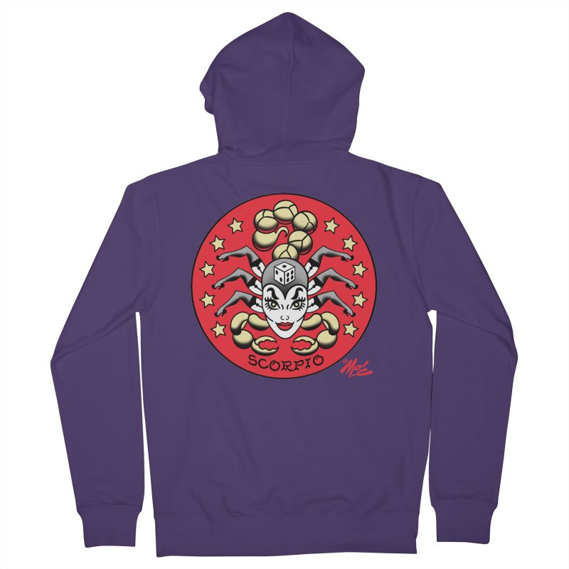 SCORPIO! Women's Zip-Up Hoody by Mitch O'Connell