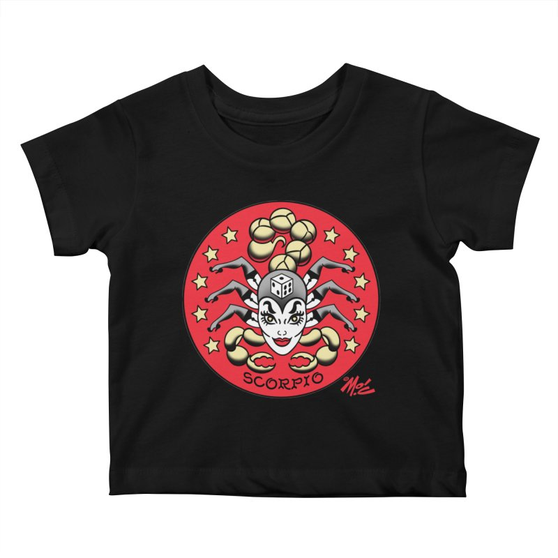 SCORPIO! Kids Baby T-Shirt by Mitch O'Connell