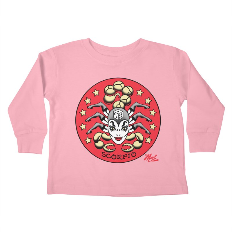 SCORPIO! Kids Toddler Longsleeve T-Shirt by Mitch O'Connell