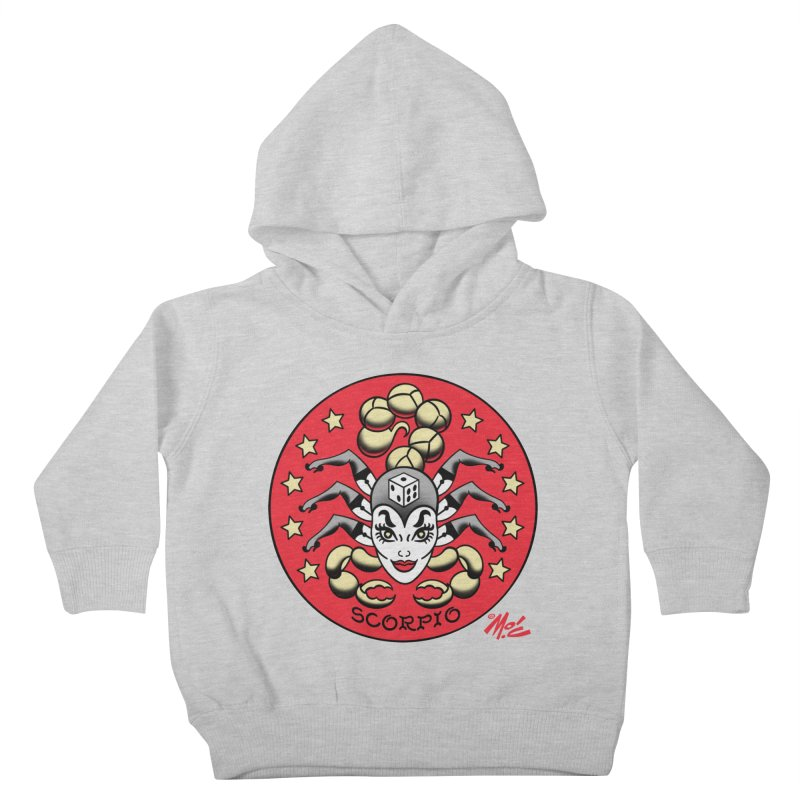 SCORPIO! Kids Toddler Pullover Hoody by Mitch O'Connell