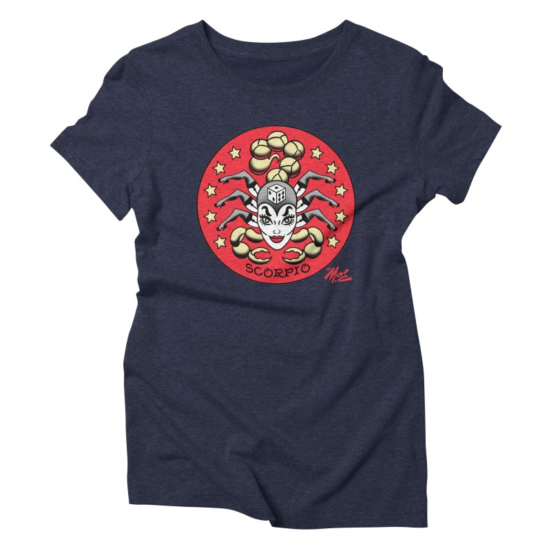 SCORPIO! Women's Triblend T-shirt by Mitch O'Connell