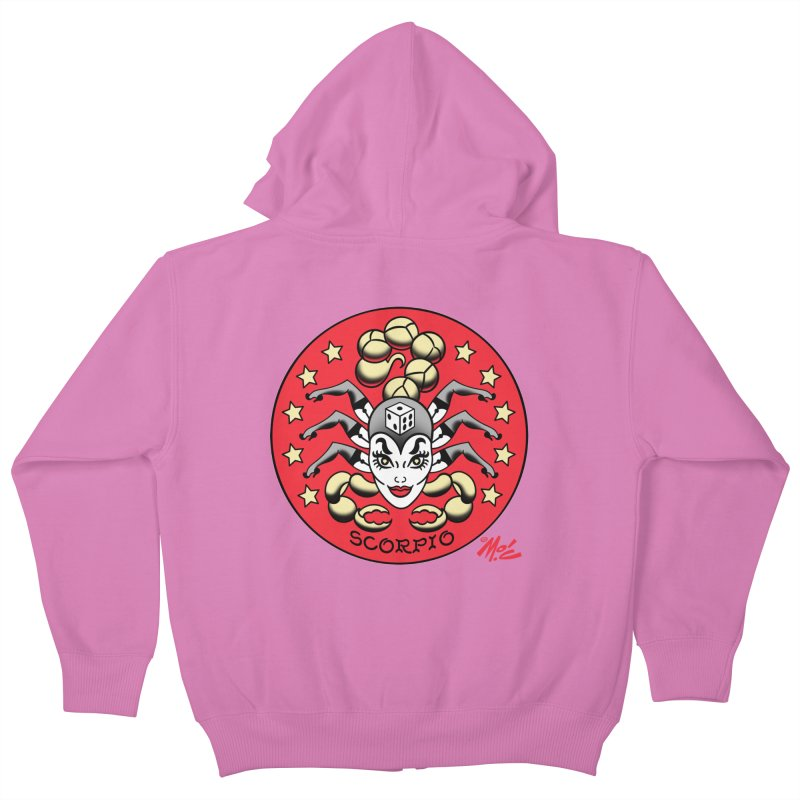 SCORPIO! Kids Zip-Up Hoody by Mitch O'Connell