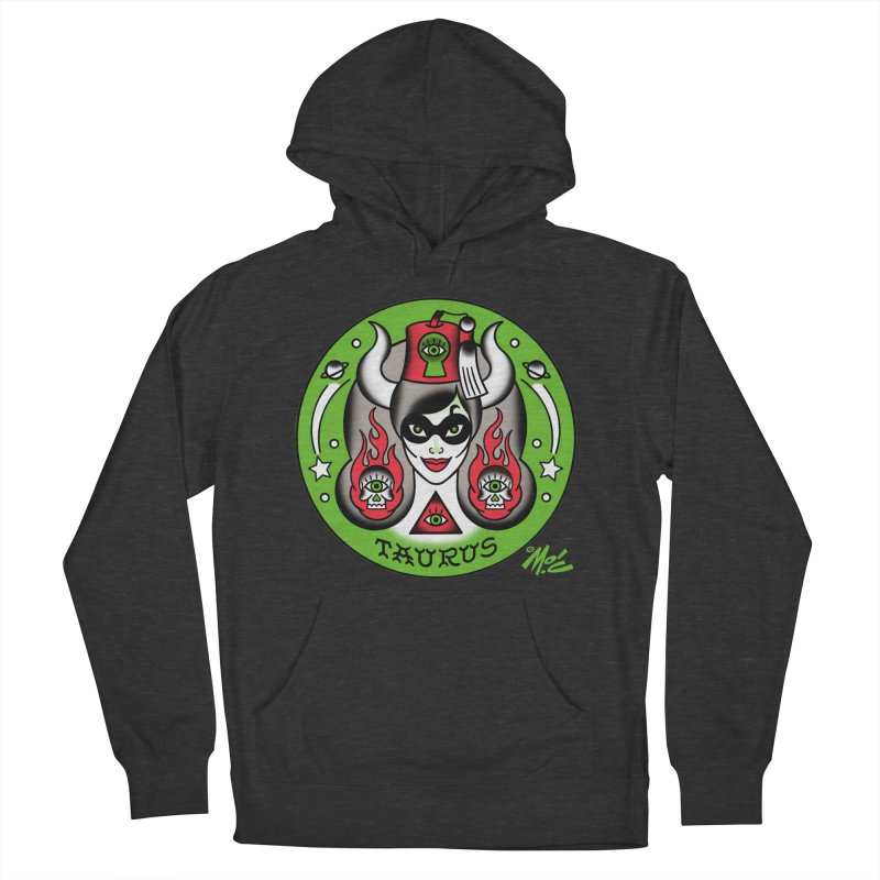 TAURUS! Men's Pullover Hoody by Mitch O'Connell