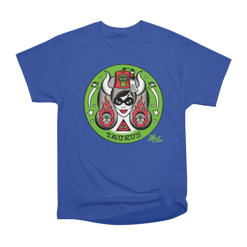 TAURUS! Men's Classic T-Shirt by Mitch O'Connell