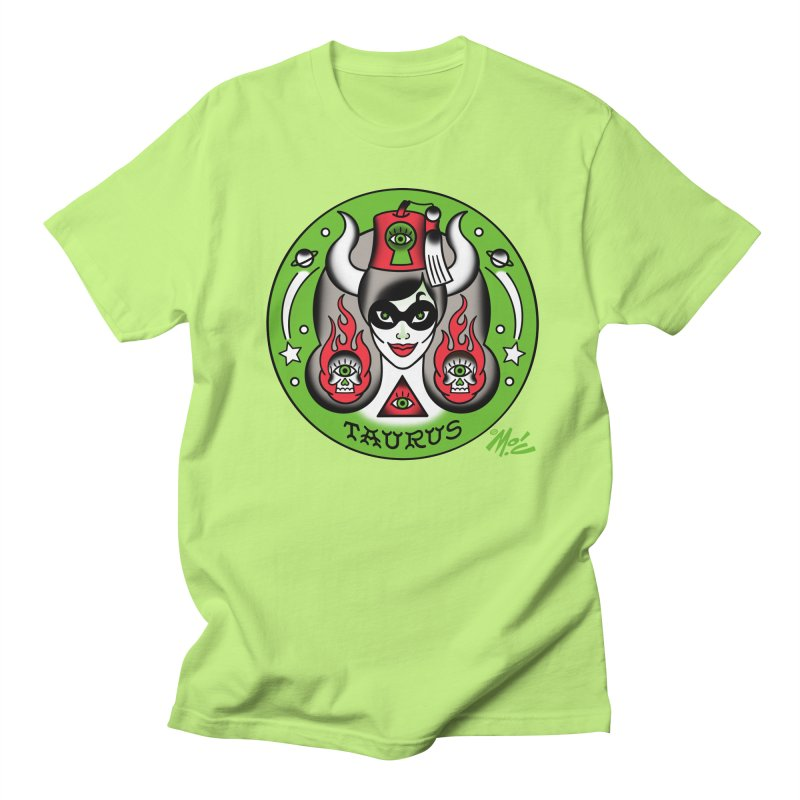 TAURUS! Women's Unisex T-Shirt by Mitch O'Connell