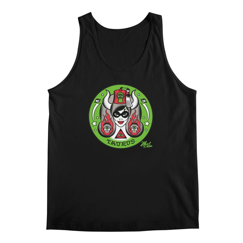 TAURUS! Men's Tank by Mitch O'Connell