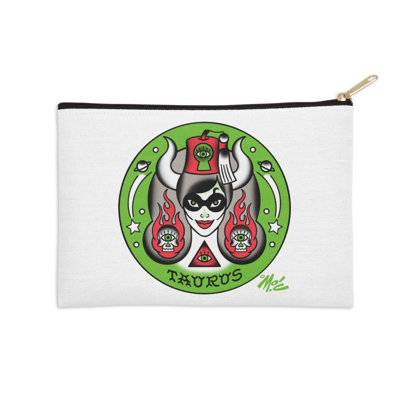 TAURUS! Accessories Zip Pouch by Mitch O'Connell