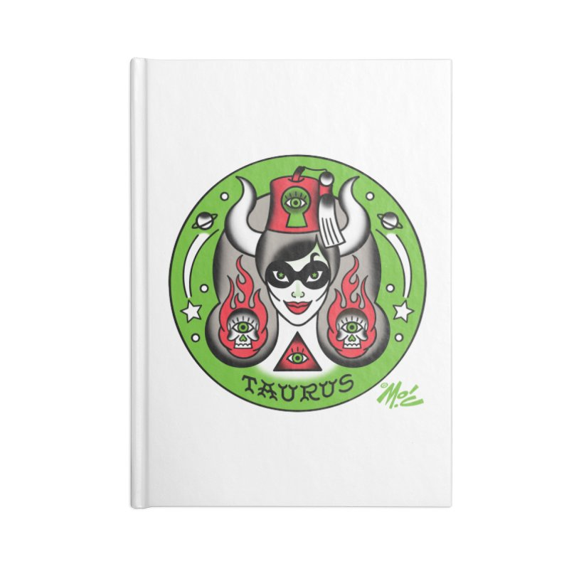 TAURUS! Accessories Notebook by Mitch O'Connell