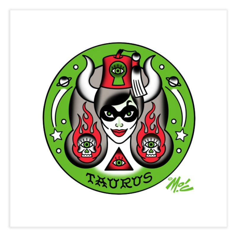 TAURUS! Home Fine Art Print by Mitch O'Connell